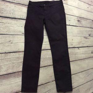 Jbrand purple skinny jeans
